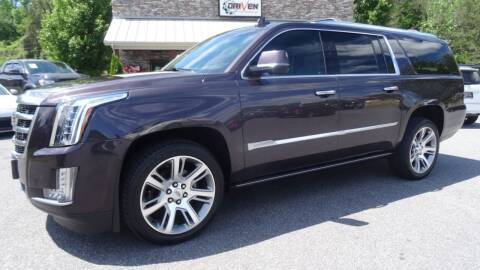 2015 Cadillac Escalade ESV for sale at Driven Pre-Owned in Lenoir NC