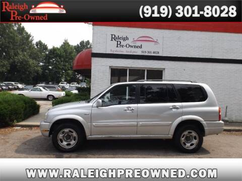 2002 Suzuki XL7 for sale at Raleigh Pre-Owned in Raleigh NC