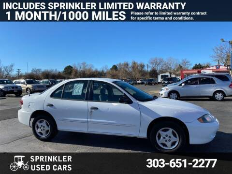 2005 Chevrolet Cavalier for sale at Sprinkler Used Cars in Longmont CO