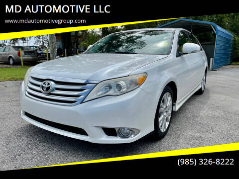 2012 Toyota Avalon for sale at MD AUTOMOTIVE LLC in Slidell LA