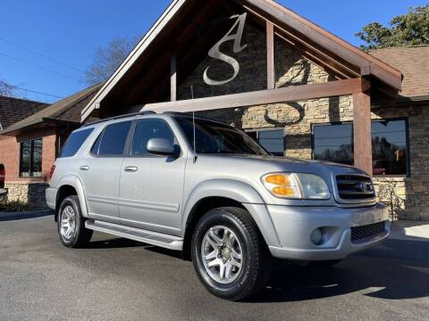 2003 Toyota Sequoia for sale at Auto Solutions in Maryville TN