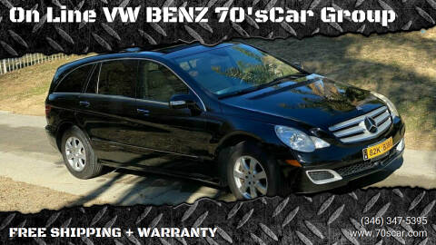 2007 Mercedes-Benz R-Class for sale at On Line VW BENZ 70'sCar Group in Warehouse CA