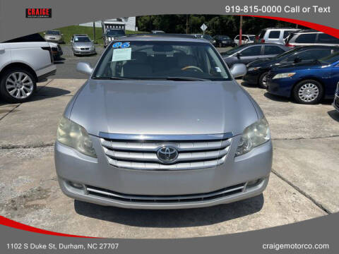 2006 Toyota Avalon for sale at CRAIGE MOTOR CO in Durham NC