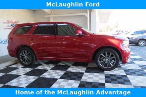 2017 Dodge Durango for sale at McLaughlin Ford in Sumter SC