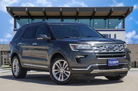 2018 Ford Explorer for sale at Douglass Automotive Group - Douglas Subaru in Waco TX