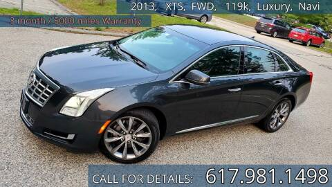 2013 Cadillac XTS for sale at Wheeler Dealer Inc. in Acton MA