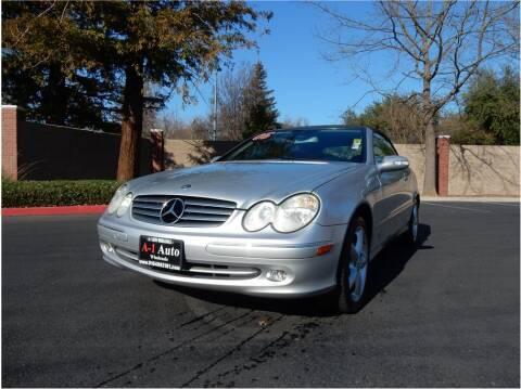 2005 Mercedes-Benz CLK for sale at A-1 Auto Wholesale in Sacramento CA