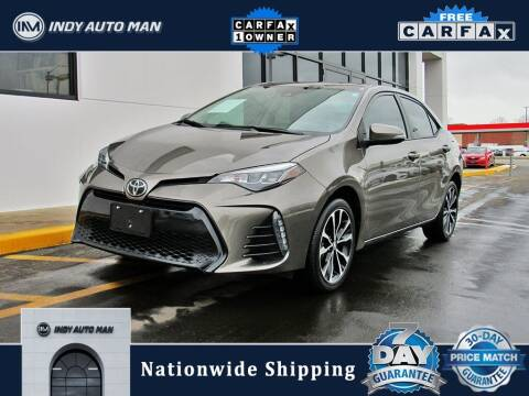 2019 Toyota Corolla for sale at INDY AUTO MAN in Indianapolis IN