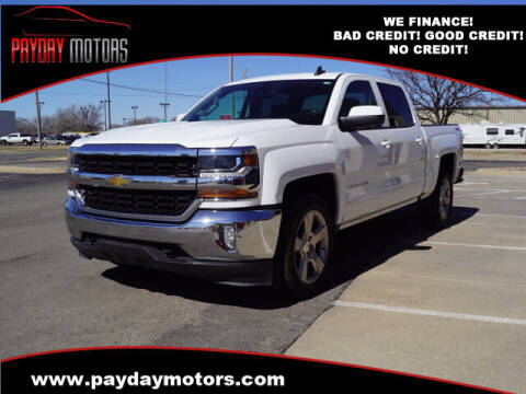 2016 Chevrolet Silverado 1500 for sale at Payday Motors in Wichita And Topeka KS