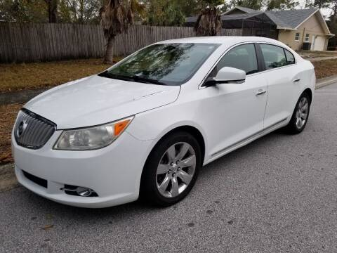 2010 Buick LaCrosse for sale at Low Price Auto Sales LLC in Palm Harbor FL