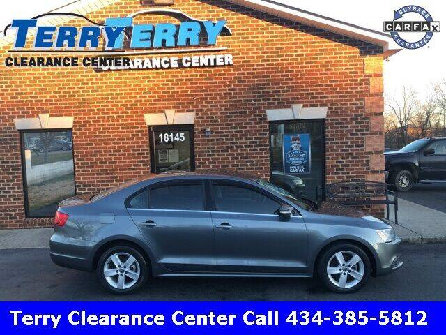 2013 Volkswagen Jetta for sale at Terry Clearance Center in Lynchburg VA