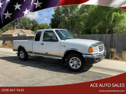 2001 Ford Ranger for sale at Ace Auto Sales in Boise ID