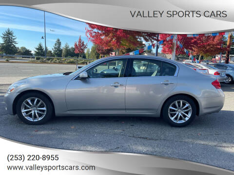 2008 Infiniti G35 for sale at Valley Sports Cars in Des Moines WA