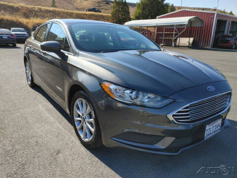 2017 Ford Fusion Hybrid for sale at Guy Strohmeiers Auto Center in Lakeport CA