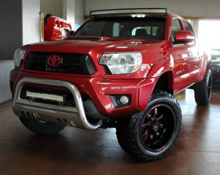 2014 Toyota Tacoma for sale at Motion Auto Sport in North Canton OH