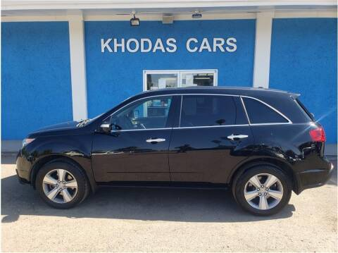 2013 Acura MDX for sale at Khodas Cars in Gilroy CA