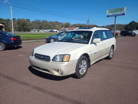 2004 Subaru Outback for sale at Mackes Family Auto Sales LLC in Bloomsburg PA