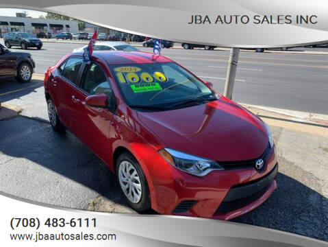 2014 Toyota Corolla for sale at JBA Auto Sales Inc in Stone Park IL