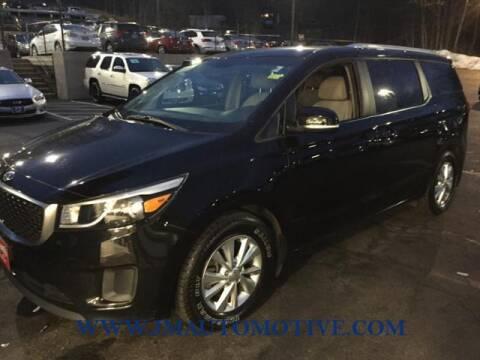 2016 Kia Sedona for sale at J & M Automotive in Naugatuck CT