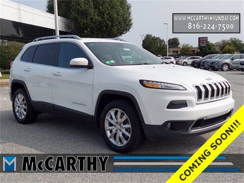 2017 Jeep Cherokee for sale at Mr. KC Cars - McCarthy Hyundai in Blue Springs MO