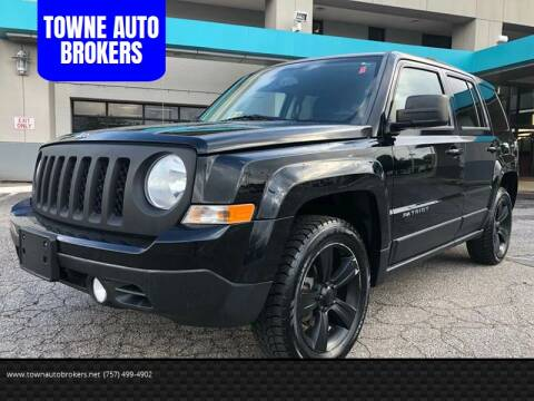 2013 Jeep Patriot for sale at TOWNE AUTO BROKERS in Virginia Beach VA