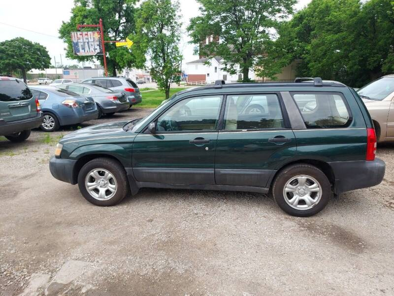 2003 Subaru Forester for sale at D & D Auto Sales in Topeka KS