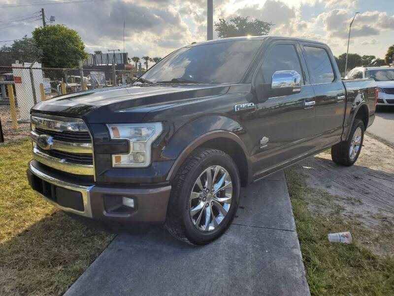 2016 Ford F-150 for sale at Maxicars Auto Sales in West Park FL
