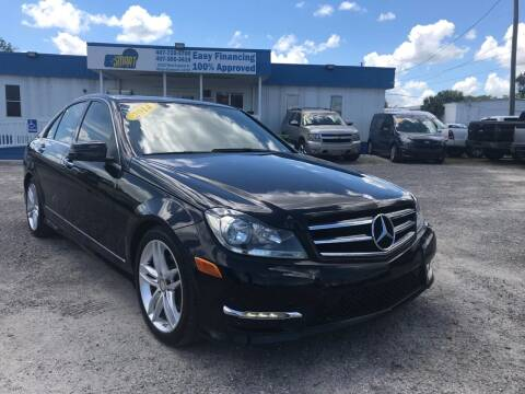 2014 Mercedes-Benz C-Class for sale at Go Smart Car Sales LLC in Winter Garden FL