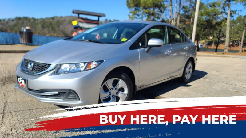 2014 Honda Civic for sale at Car Store Of Gainesville in Oakwood GA