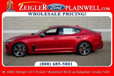 2020 Kia Stinger for sale at Zeigler Ford of Plainwell- Jeff Bishop in Plainwell MI
