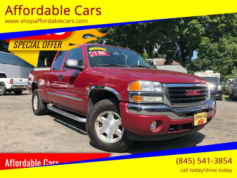 2005 GMC Sierra 1500 for sale at Affordable Cars in Kingston NY