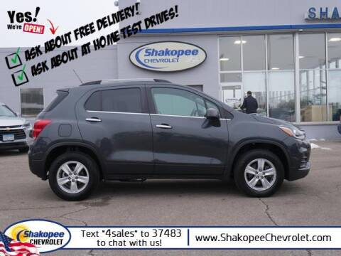 2018 Chevrolet Trax for sale at SHAKOPEE CHEVROLET in Shakopee MN
