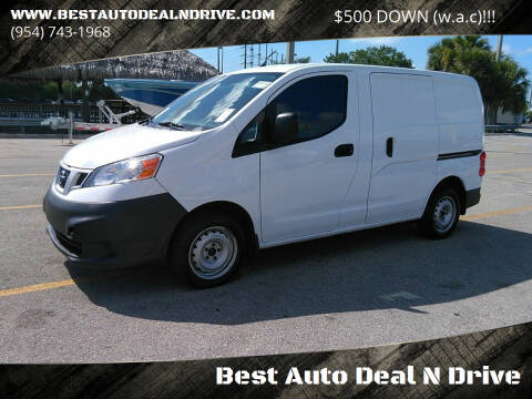 2015 Nissan NV200 for sale at Best Auto Deal N Drive in Hollywood FL