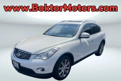 2013 Infiniti EX37 for sale at Boktor Motors in North Hollywood CA