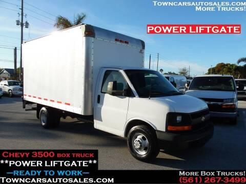 2011 Chevrolet Express Cutaway for sale at Town Cars Auto Sales in West Palm Beach FL