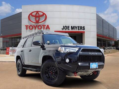 2018 Toyota 4Runner for sale at Joe Myers Toyota PreOwned in Houston TX