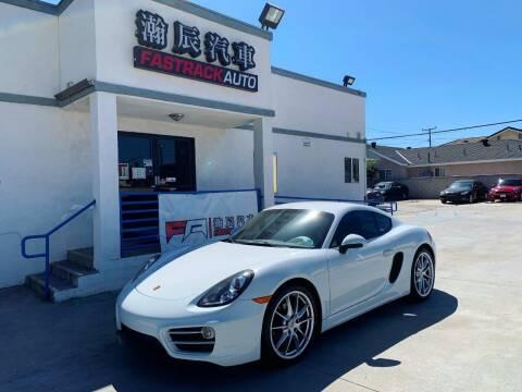 2014 Porsche Cayman for sale at Fastrack Auto Inc in Rosemead CA