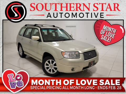 2006 Subaru Forester for sale at Southern Star Automotive, Inc. in Duluth GA