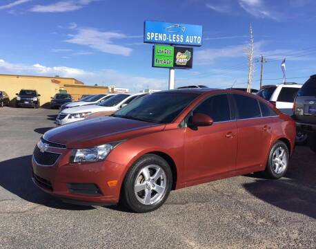 2012 Chevrolet Cruze for sale at SPEND-LESS AUTO in Kingman AZ