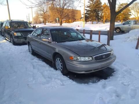 2000 Buick Century for sale at Continental Auto Sales in White Bear Lake MN