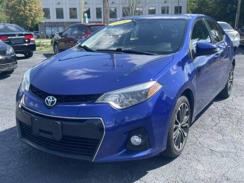 2016 Toyota Corolla for sale at All Star Auto  Cycle in Marlborough MA