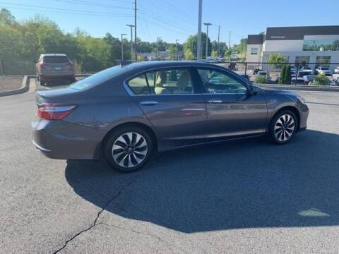2017 Honda Accord Hybrid for sale at CU Carfinders in Norcross GA
