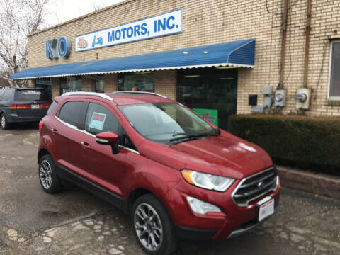 2018 Ford EcoSport for sale at K O Motors in Akron OH