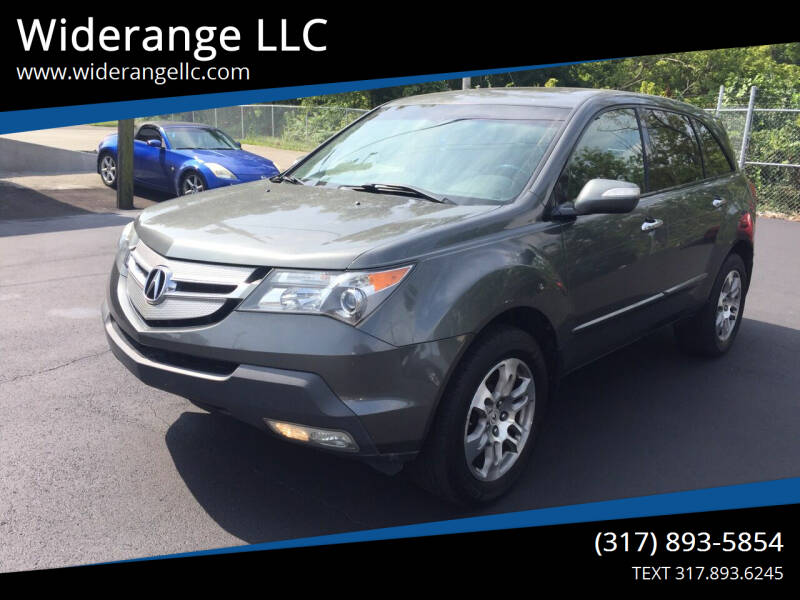 2008 Acura MDX for sale at Widerange LLC in Greenwood IN
