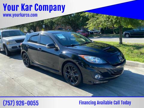 2013 Mazda MAZDASPEED3 for sale at Your Kar Company in Norfolk VA