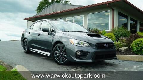 2020 Subaru WRX for sale at WARWICK AUTOPARK LLC in Lititz PA
