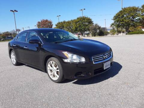 2014 Nissan Maxima for sale at A&R MOTORS in Portsmouth VA