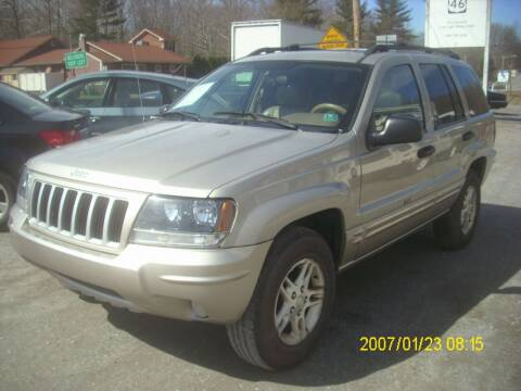 2004 Jeep Grand Cherokee for sale at Motors 46 in Belvidere NJ