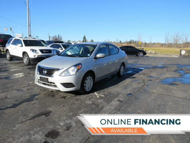 2016 Nissan Versa for sale at A to Z Auto Financing in Waterford MI
