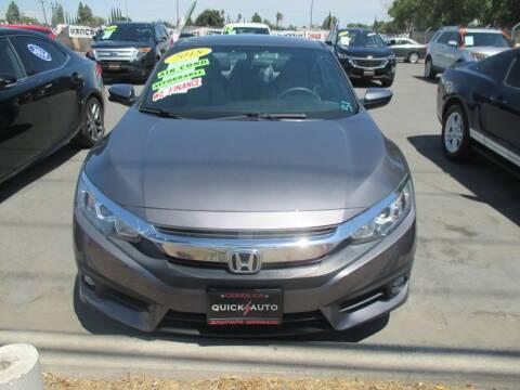 2018 Honda Civic for sale at Quick Auto Sales in Modesto CA